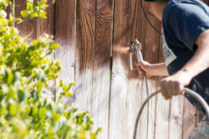 professional fence repair stain seal tulsa oklahoma