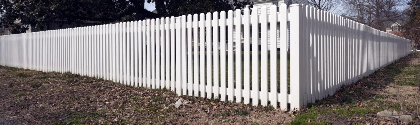 Tulsa Vinyl Fencing Services composite picket fences
